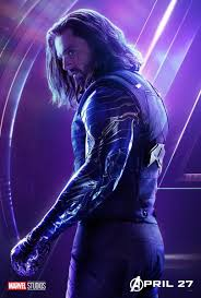 Winter Soldier - Avengers Infinity War character poster