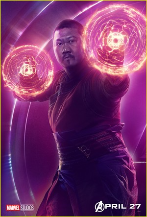 Wong - Avengers Infinity War character poster