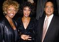 Whitney And Her Parents  - whitney-houston photo