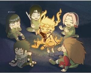 cute Naruto chibis❤