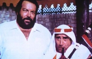 enzo cannavale con bud spencer in piedone d egitto 197060