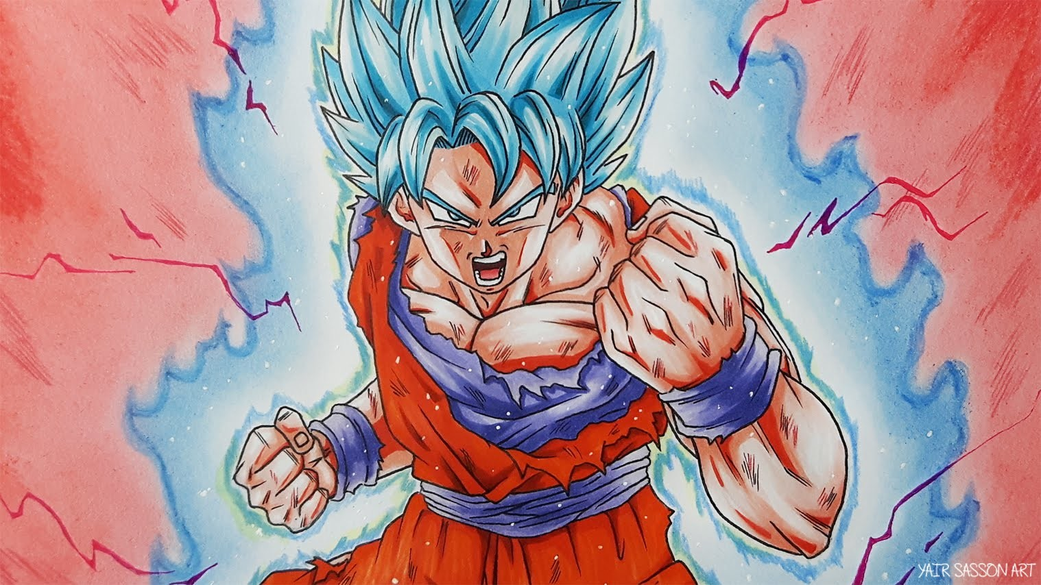 How To Draw Goku Super Saiyan Hzbm O Dragon Ball Z Photo