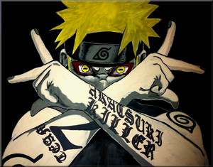 painting   naruto the killer by iareawesomeness d2zsvph