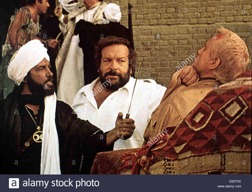 Bud Spencer karatasi la kupamba ukuta titled plattfuss am nil piedone degitto bud spencer kommissar rizzo bud spencer m lokalen caption 1979 d22y