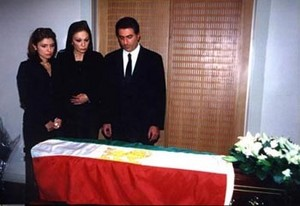 princess leila pahlavi funeral