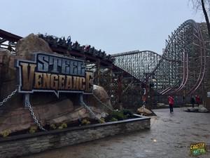 steel vengeance ride sign coaster nation