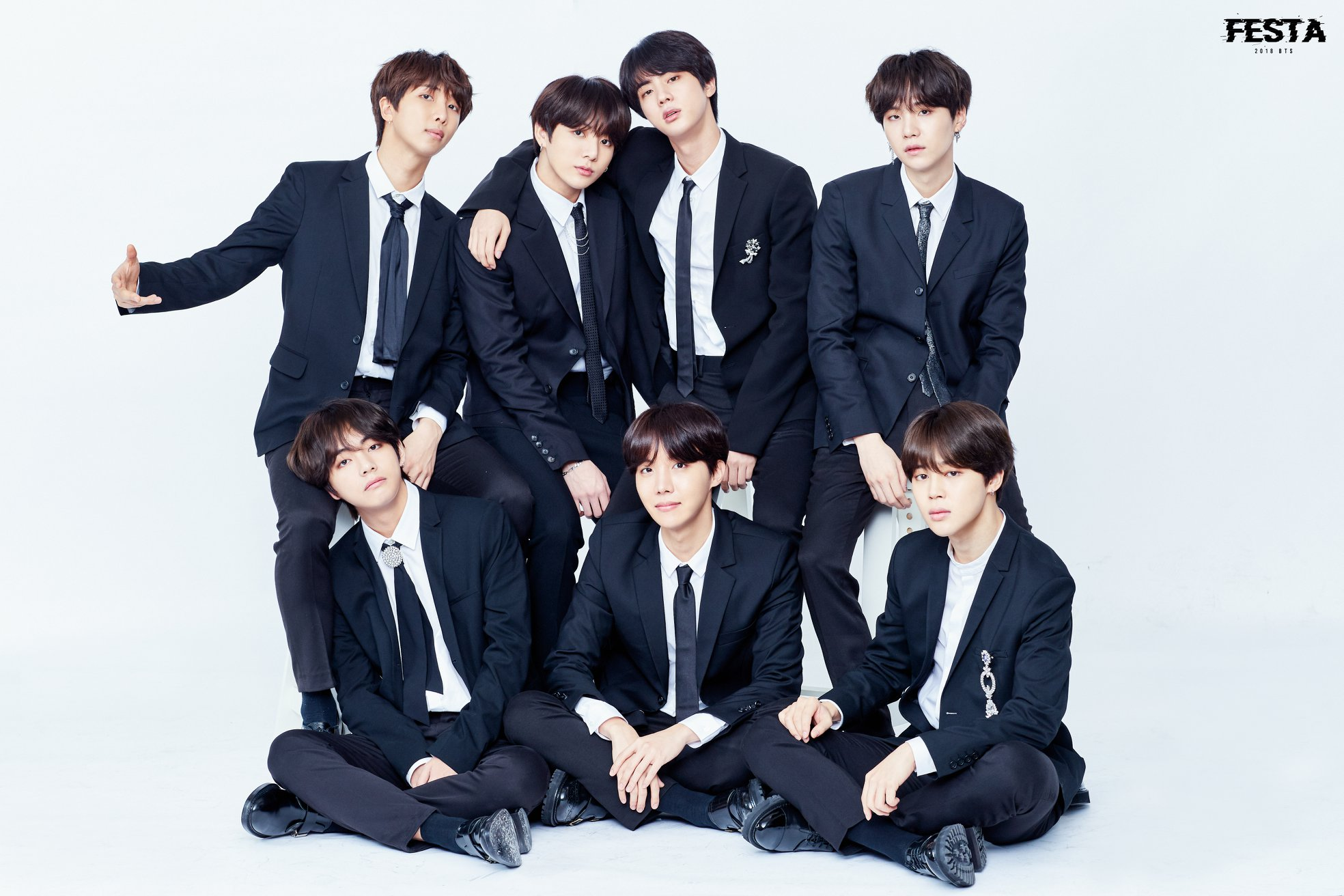 Bts Images 2018 Bts Festa 2018 Bts Family Photograph 1 2 Hd