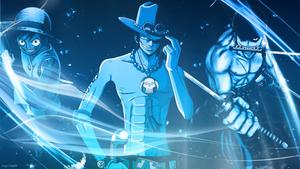 *Ace / Zoro / Luffy*