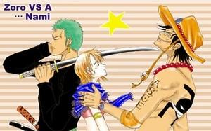 *Ace / Zoro*