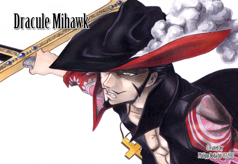 One Piece Images Dracule Mihawk Hd Wallpaper And Background Photos