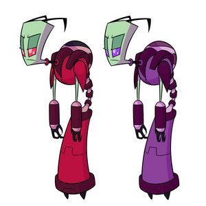 'Invader Zim: Enter The Florpus' Character Artwork