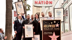 "*NSYNC Receiving their étoile, star on ""The Hollywood Walk of Fame"""