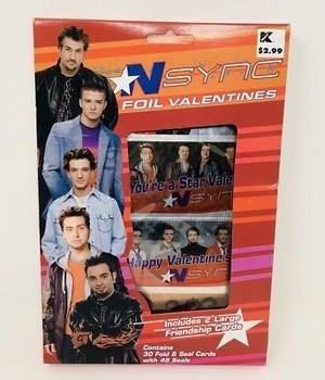 *NSYNC Valentine Cards
