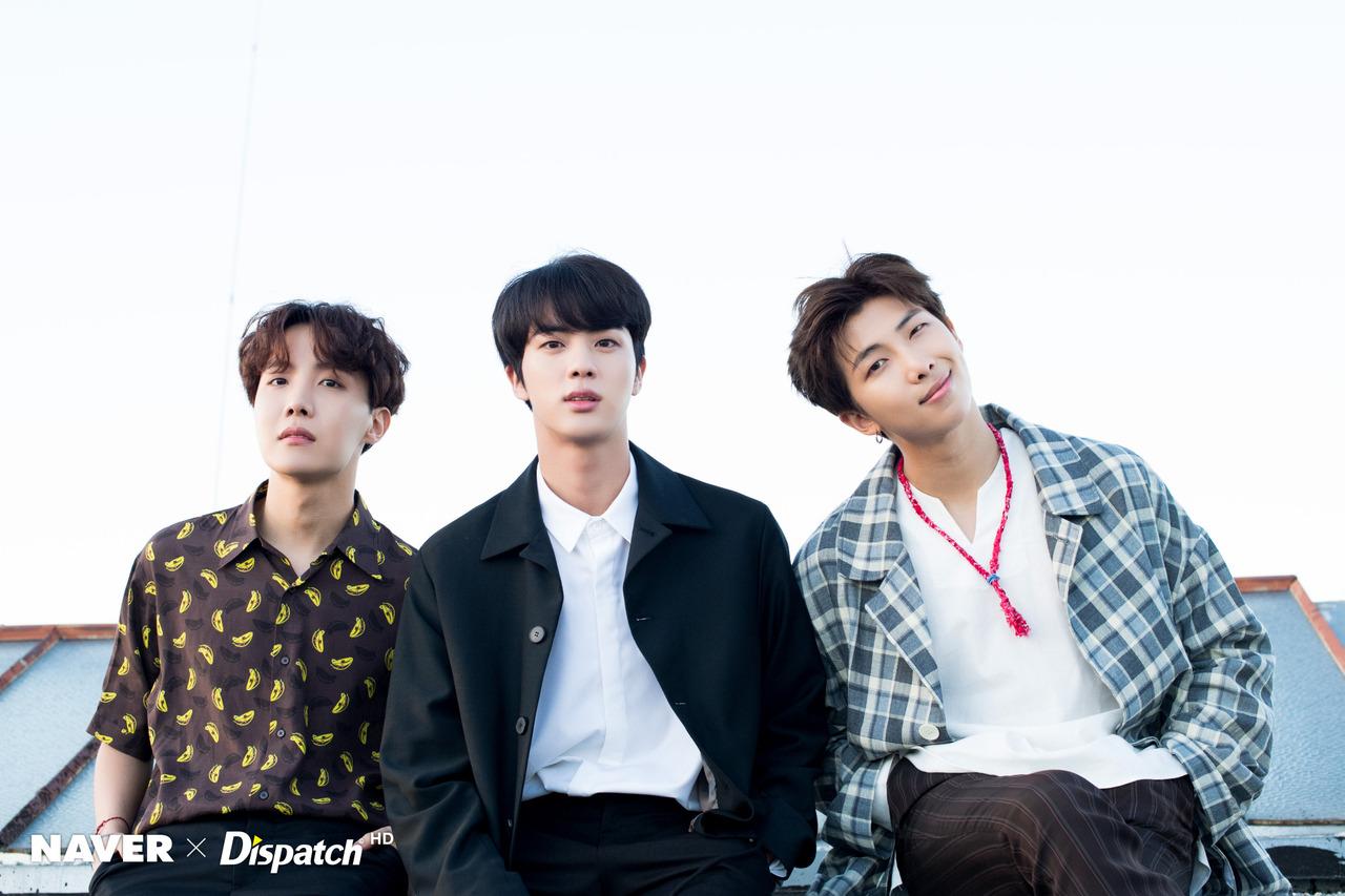 RM, JIN , JHOPE X DISPATCH FOR BTS' 5TH ANNIVERSARY - BTS