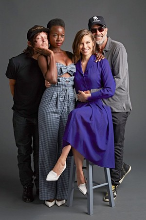 'TWD' Cast SDCC 2018 Portrait ~ The Hollywood Reporter