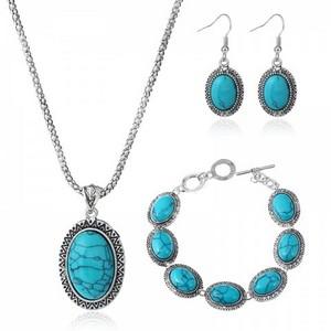 3-Piece Turquoise Jewelry Set
