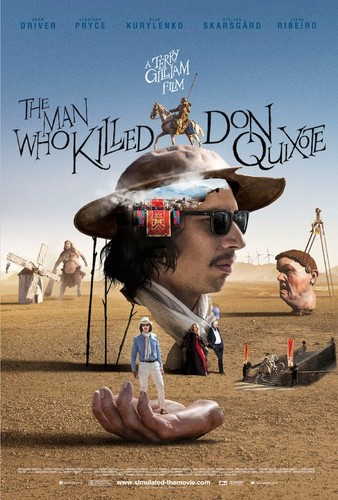 pelikula wolpeyper called 'The Man Who Killed Don Quixote' poster 3