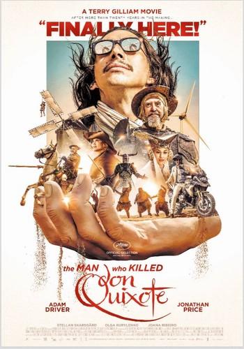 pelikula wolpeyper entitled 'The Man Who Killed Don Quixote' poster 4