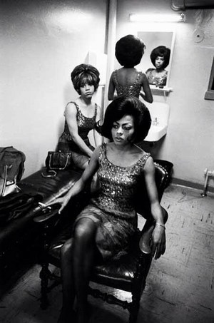 The Supremes Backstage