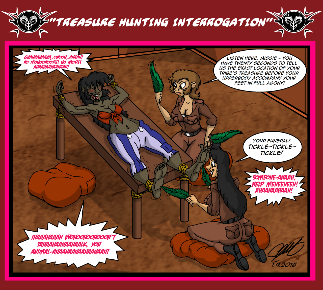 69treasure hunting interrogation by theciemgecorner d9xf2x0