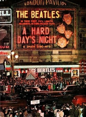 A Hard Day's Night london premier