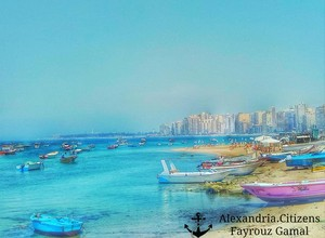 ALEXANDRIA 의해 THE SEA EGYPT
