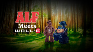 ALF Meets Wall-E