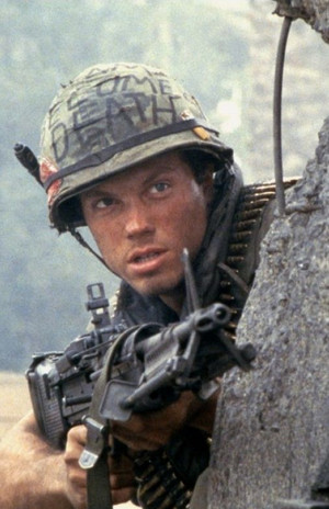 Adam Baldwin as Animal Mother in Full Metal koti, jacket