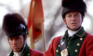Adam Baldwin as Captain Wilkins in The Patriot