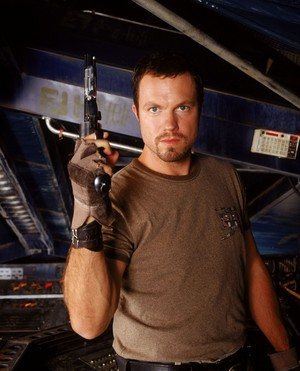 Adam Baldwin as Jayne Cobb in Firefly