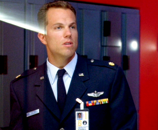 Adam Baldwin as Major Mitchell in Independence Day