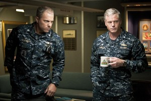 Adam Baldwin as Mike Slattery in The Last Ship