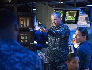 Adam Baldwin as Mike Slattery in The Last Ship