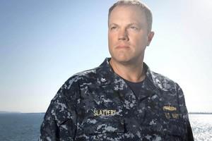 Adam Baldwin as XO Mike Slattery in The Last Ship