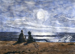 Adoration Winslow Homer