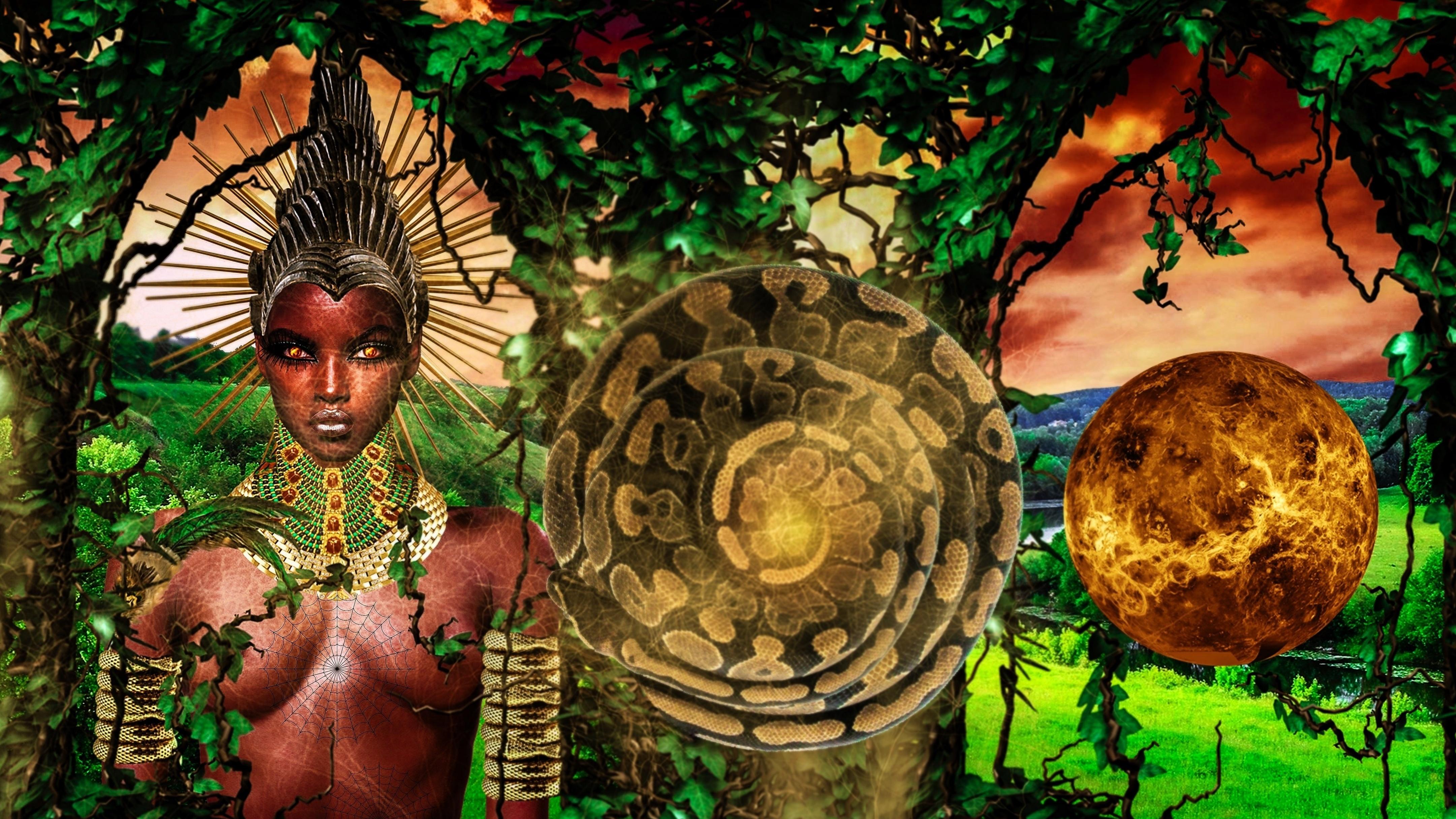 Sirius Ugo Art images African Goddess Eke Idemiri Idemili Idenne ...