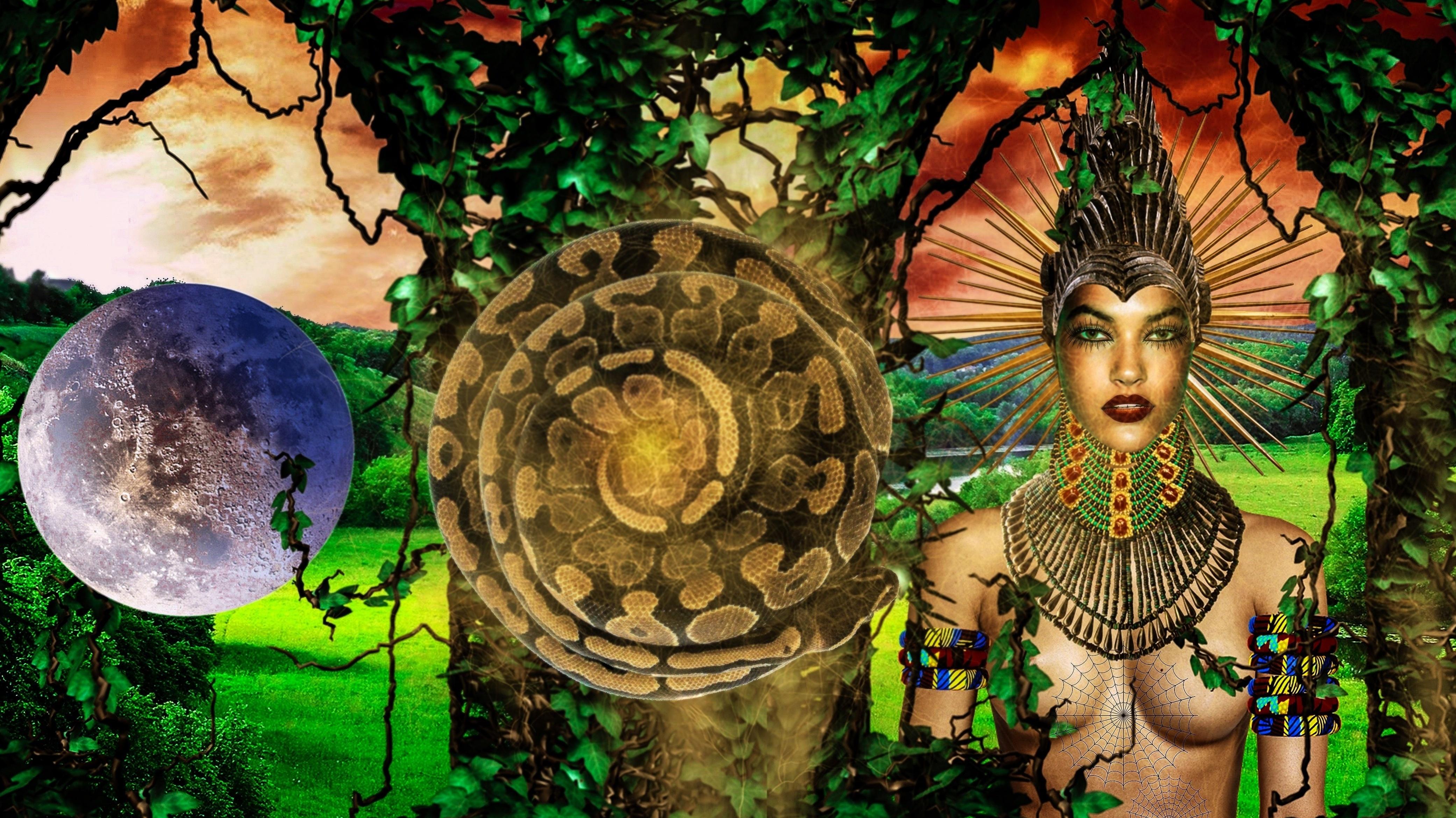 Sirius Ugo Art Bilder African Goddess Eke Idemiri Idemili Idenne ...