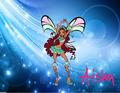 Aisha Waves Wallpaper - the-winx-club wallpaper