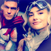 Alan Ritchson and Minka Kelly Icons - minka-kelly icon