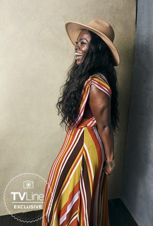 American Gods' Yetide Badaki at San Diego Comic Con 2018 - TVLine Portrait