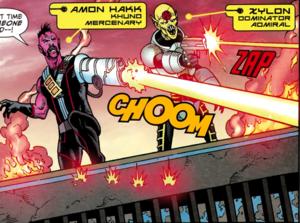 Amon Hakk and Xylon