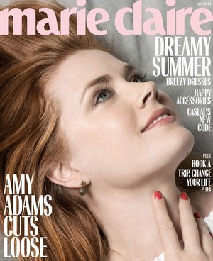 Amy Adams - Marie Claire Cover - 2018