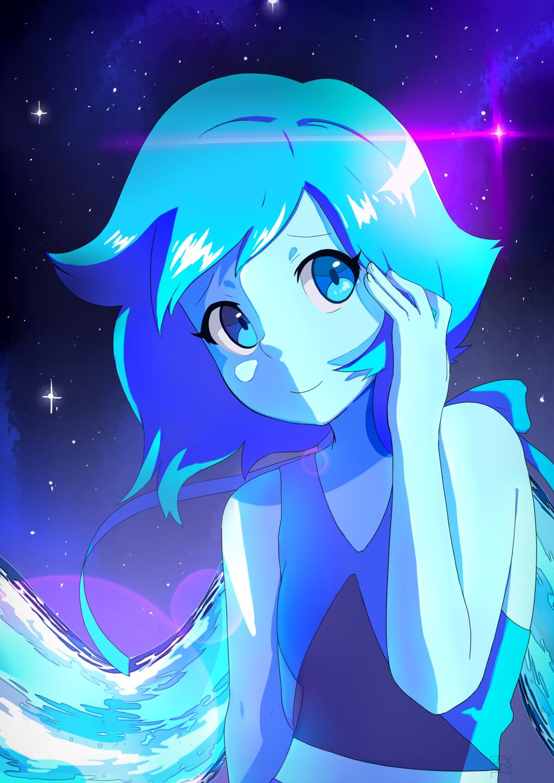 Anime Lapis Lapis Lazuli Steven Universe Fan Art