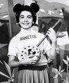 Annette Funnicello  - disney photo