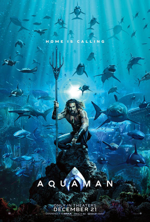Aquaman (2018) Poster - accueil Is Calling