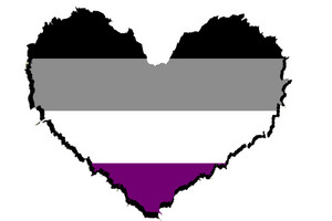 Asexuality hart-, hart