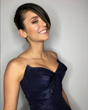 বাংট্যান বয়েজ - Nina Dobrev Getting Ready for CFDA