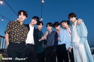 बी टी एस X DISPATCH FOR BTS' 5TH ANNIVERSARY