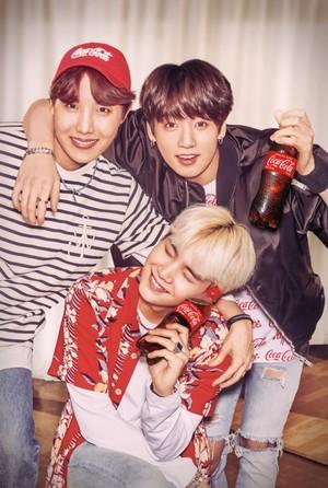 BTS photoshoot