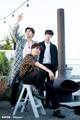BTS x Dispatch - jin-bts photo